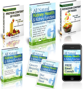 All Natural Kidney Health and Kidney Function Restoration guide