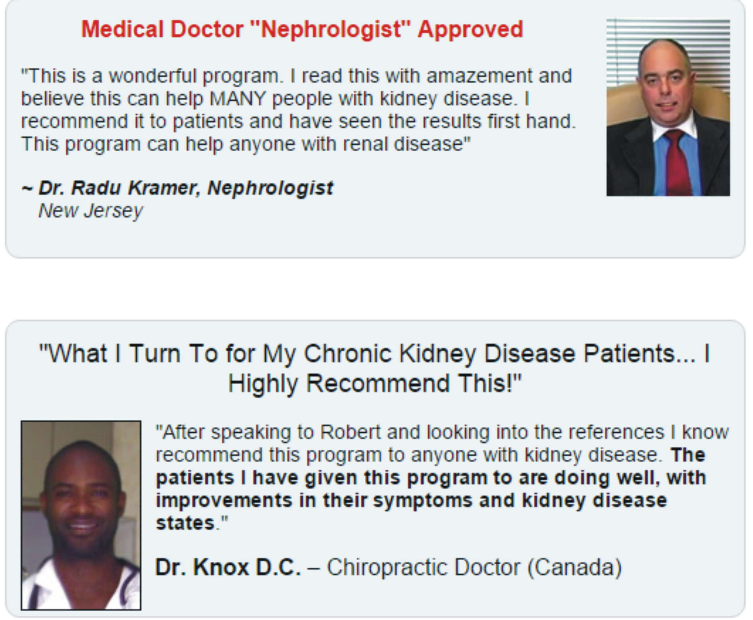 doctors confirm that All Natural Kidney Health and Kidney Function Restoration guide works