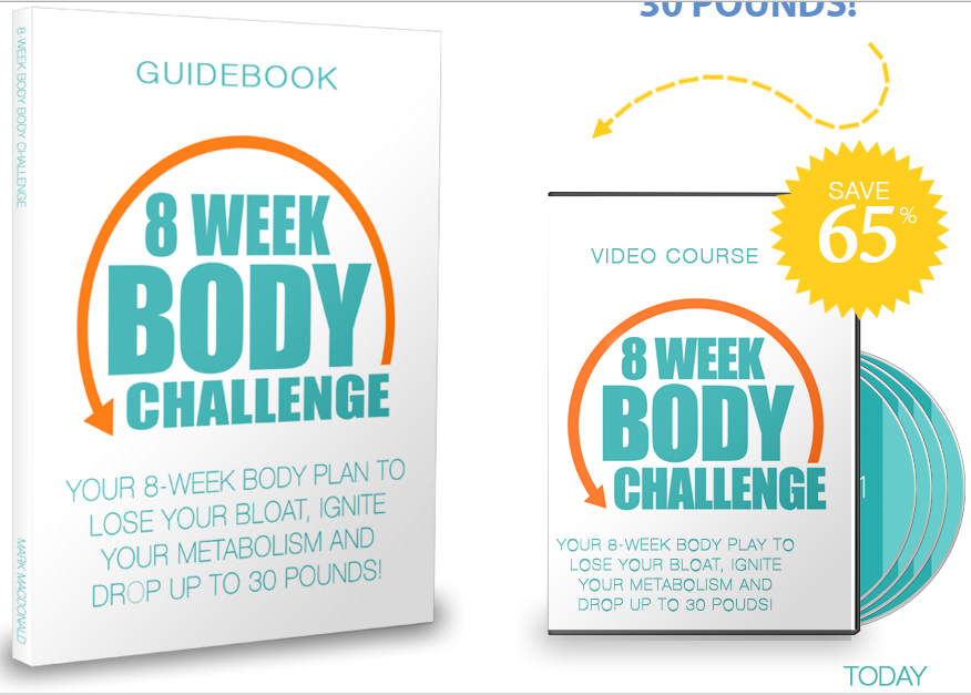 8 weeks body challenge program