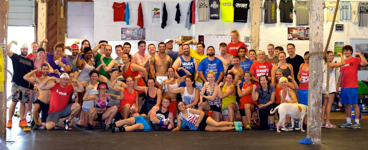 crossfit Nola - top gyms In New Orleans