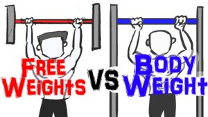 bodyweight exercises vs weight machines