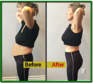 Lean belly breakthrough program users before/after photo