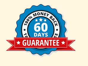 The warrior zero bodyweight challenge program comes with 100% money back guarantee