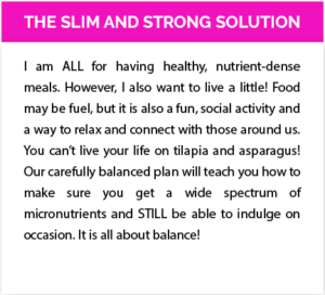 slim and strong advanced metabolic training