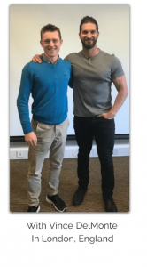 Tom McCann with Vince Delmonte
