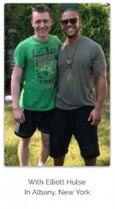 Tom McCann with Elliot Hulse