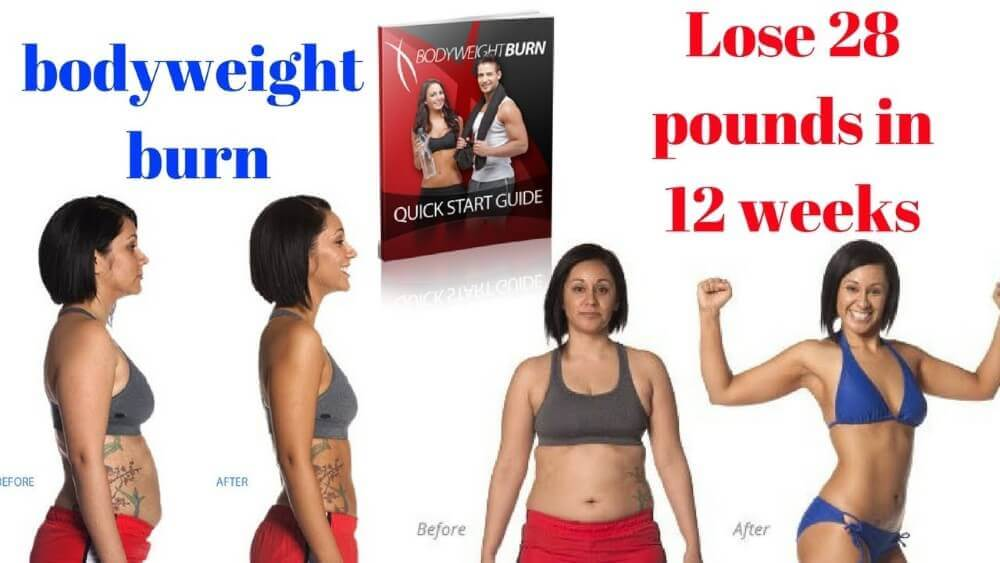 Bodyweight Burn program before and after photos of users