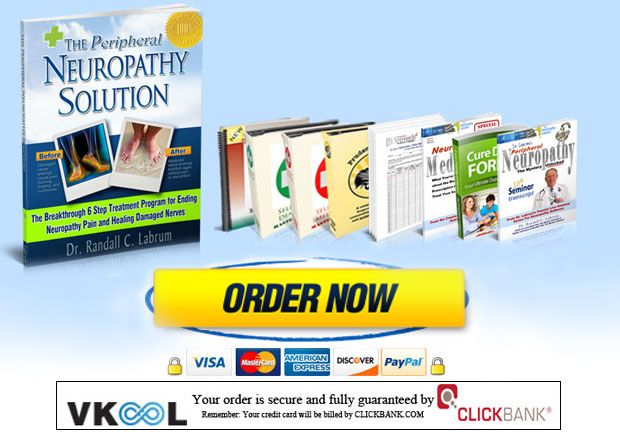 Peripheral neuropathy solution program full package